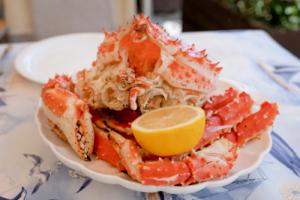 mollusques et crustacés huîtres crabes moules zinc